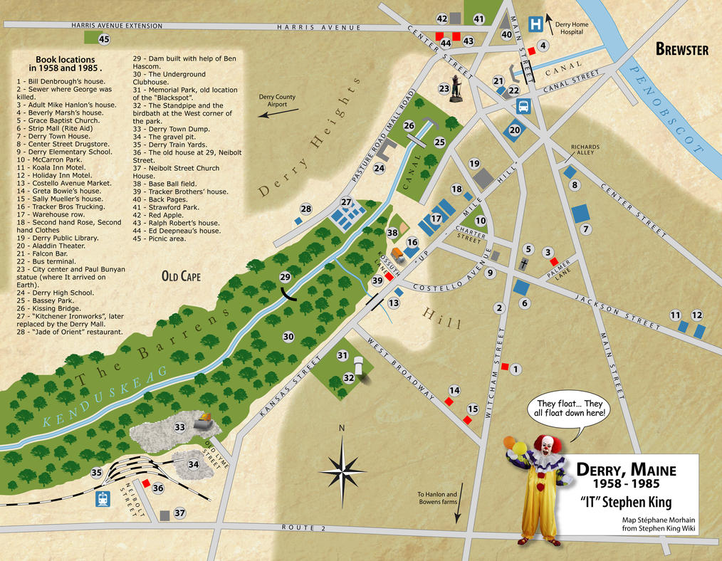 Derry Map in English by Morhain-Stef on DeviantArt