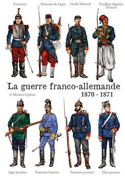 Les soldats de la guerre de 1870-71