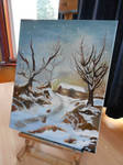 ORIGINAL **-'THE FLAKING SNOW'- **Selling on Ebay!