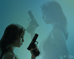 Girl with the glock 2
