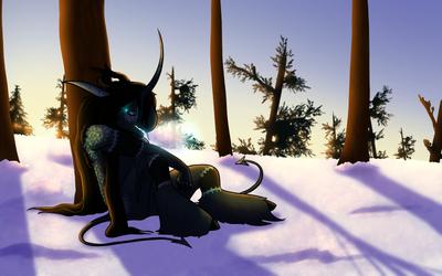 Indie Magic Ice | Frozen Sunset