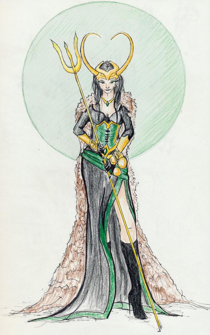 Lady Loki by Afireonthesnow
