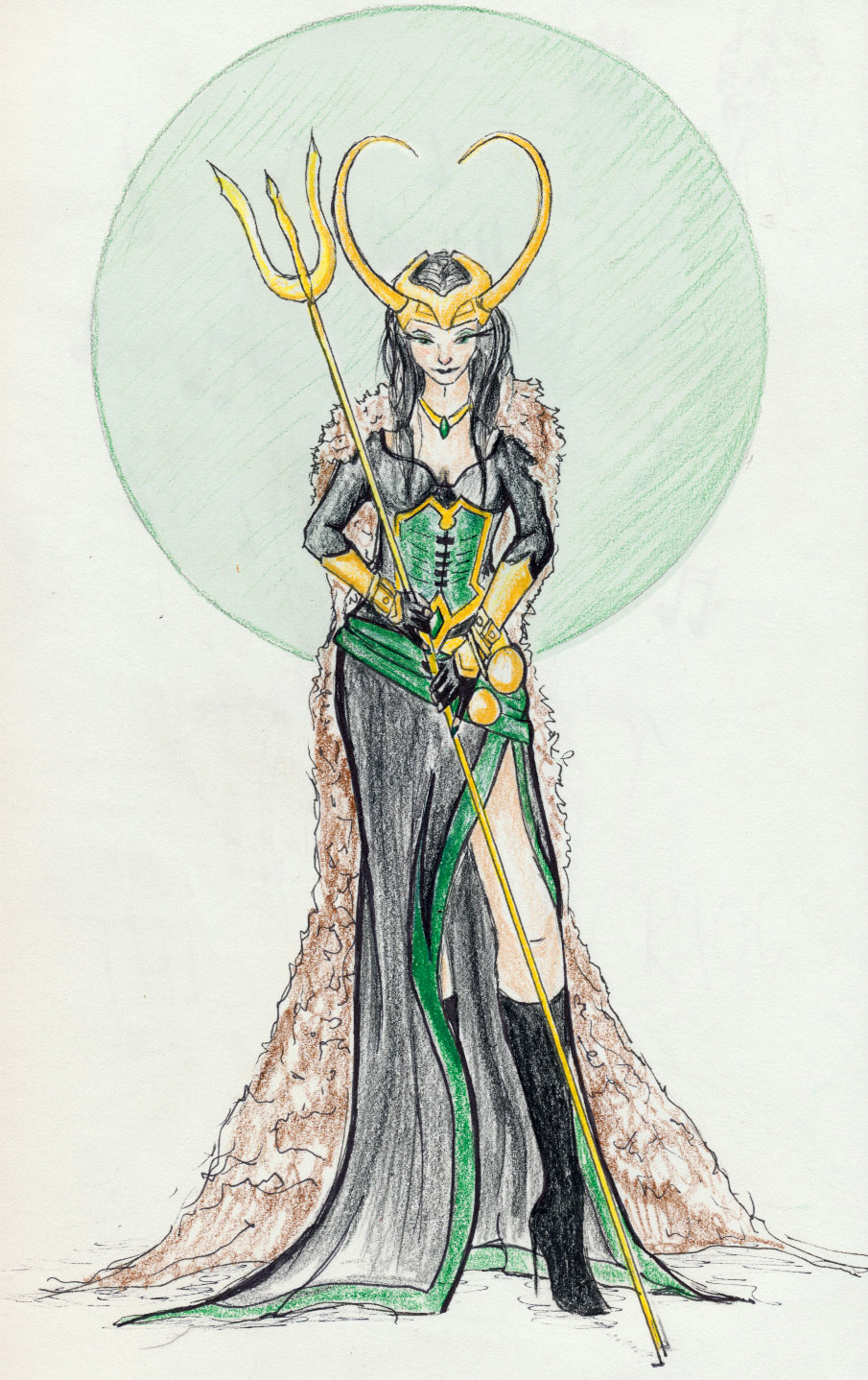 Lady Loki by Afireonthesnow