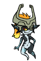 Midna by PleasePleasePepper
