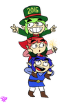 Happy New Year from the Tri Force Heroes