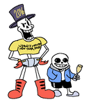 Happy New Year from Papyrus and Sans