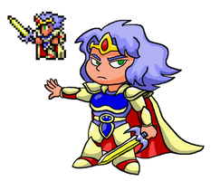 Cecil the Paladin - Final Fantasy 4 by PleasePleasePepper