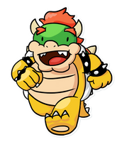 It's Bowser! by PleasePleasePepper