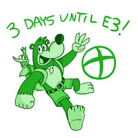 3 Days Until E3! - Banjo Threeie by PleasePleasePepper