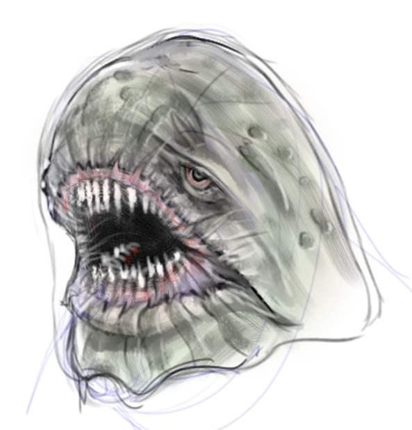 PacMan Ghost WIP by SleepDebt