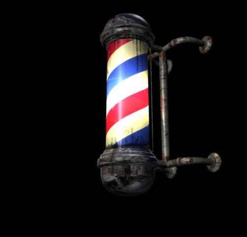 Barber Pole Wallpaper