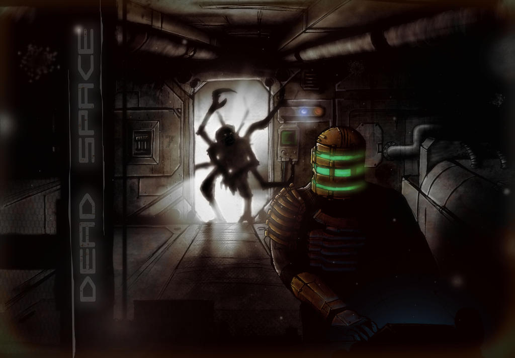 dead - Dead space, il terrore incarnato in un videogioco Dead_space_by_SpOoKy777