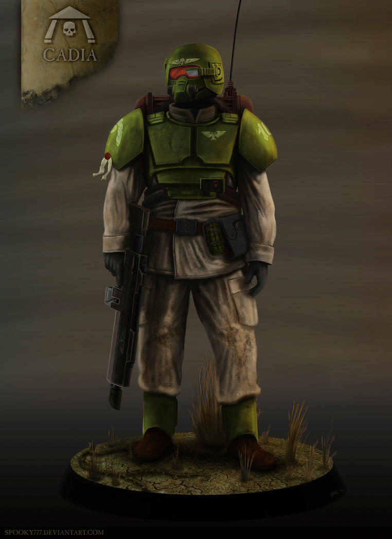 Cadian H.E. Trooper by SpOoKy777