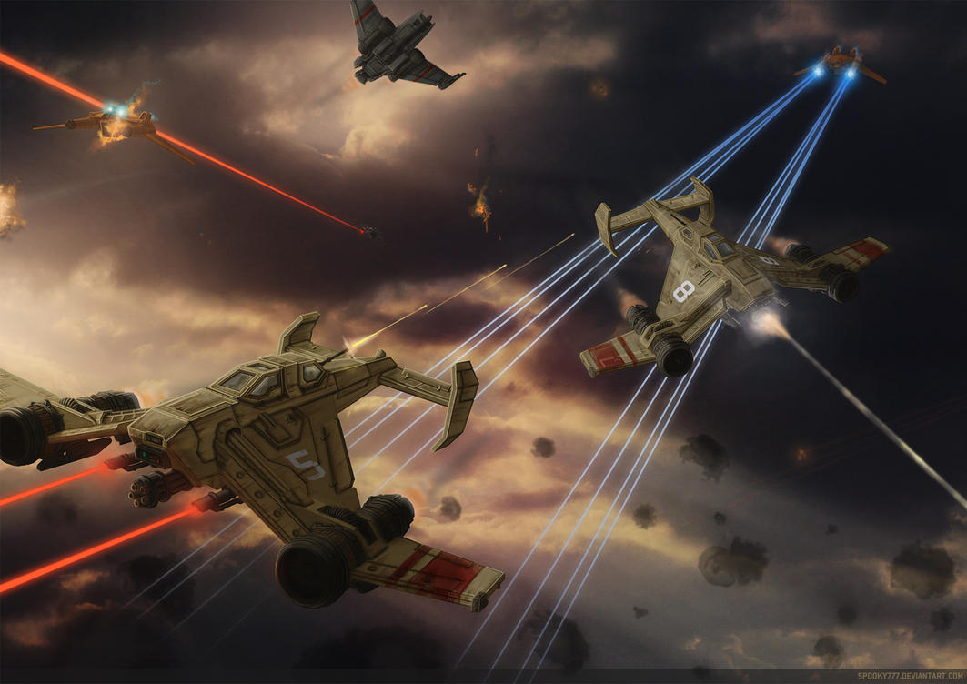 dogfight by SpOoKy777