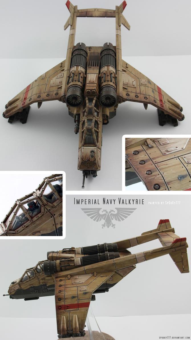 Imperial Valkyrie by SpOoKy777
