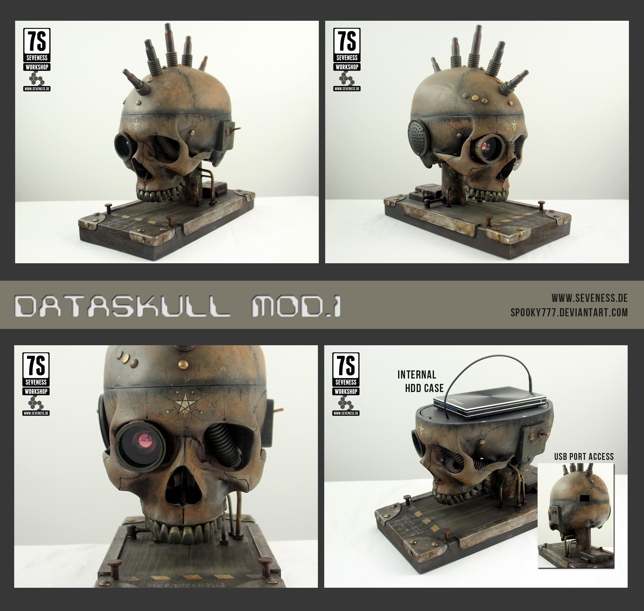 Dataskull mod.1 by SpOoKy777
