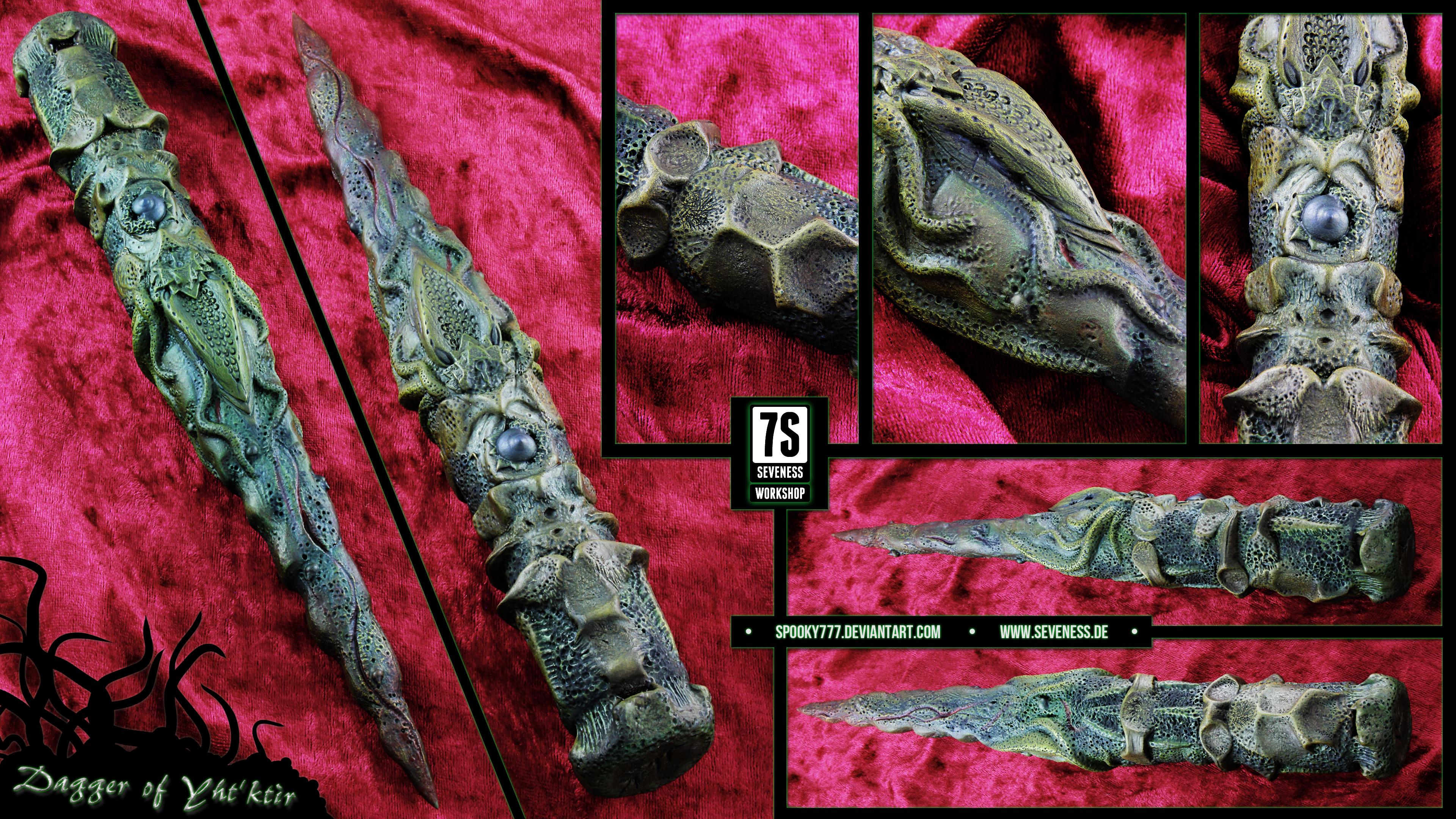 Dagger of Yht'ktir by SpOoKy777