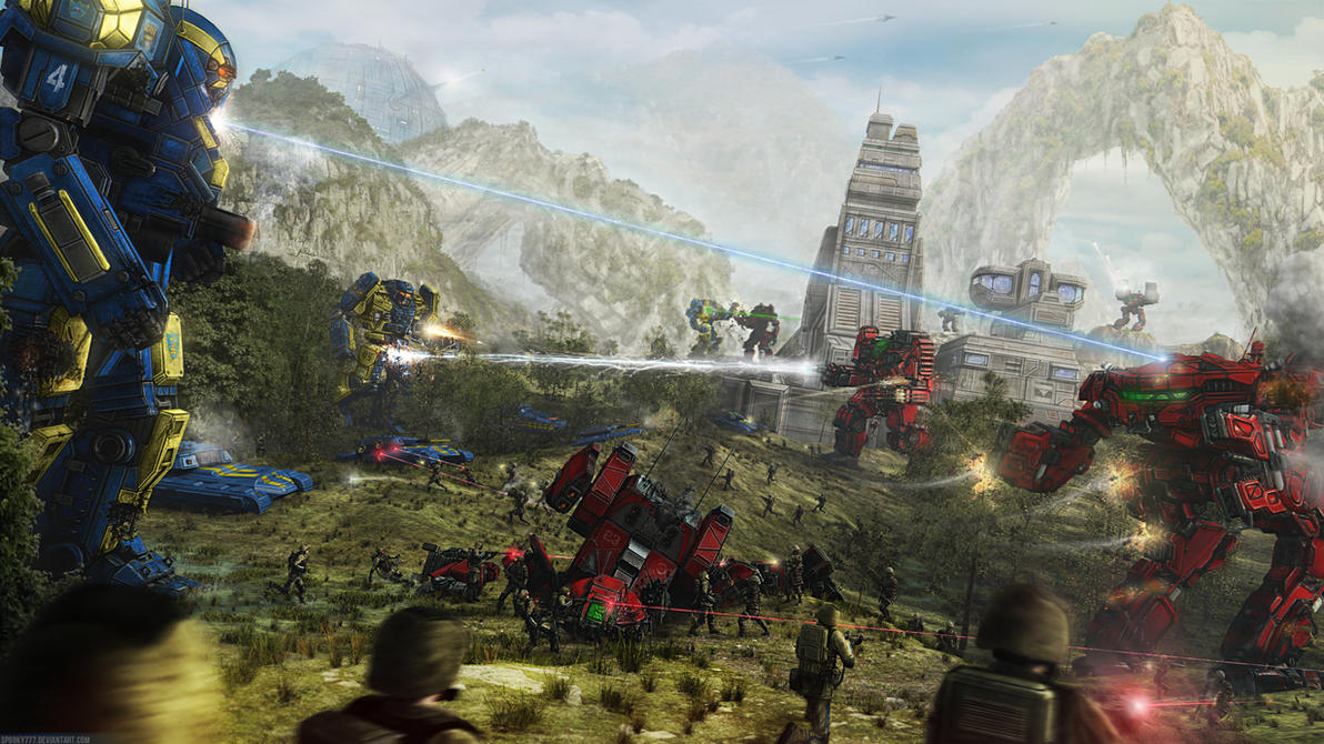 Battle of Sunder's Pass, 3028 by SpOoKy777