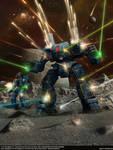 Battletech: Legends, novel cover -Wolf Pack-