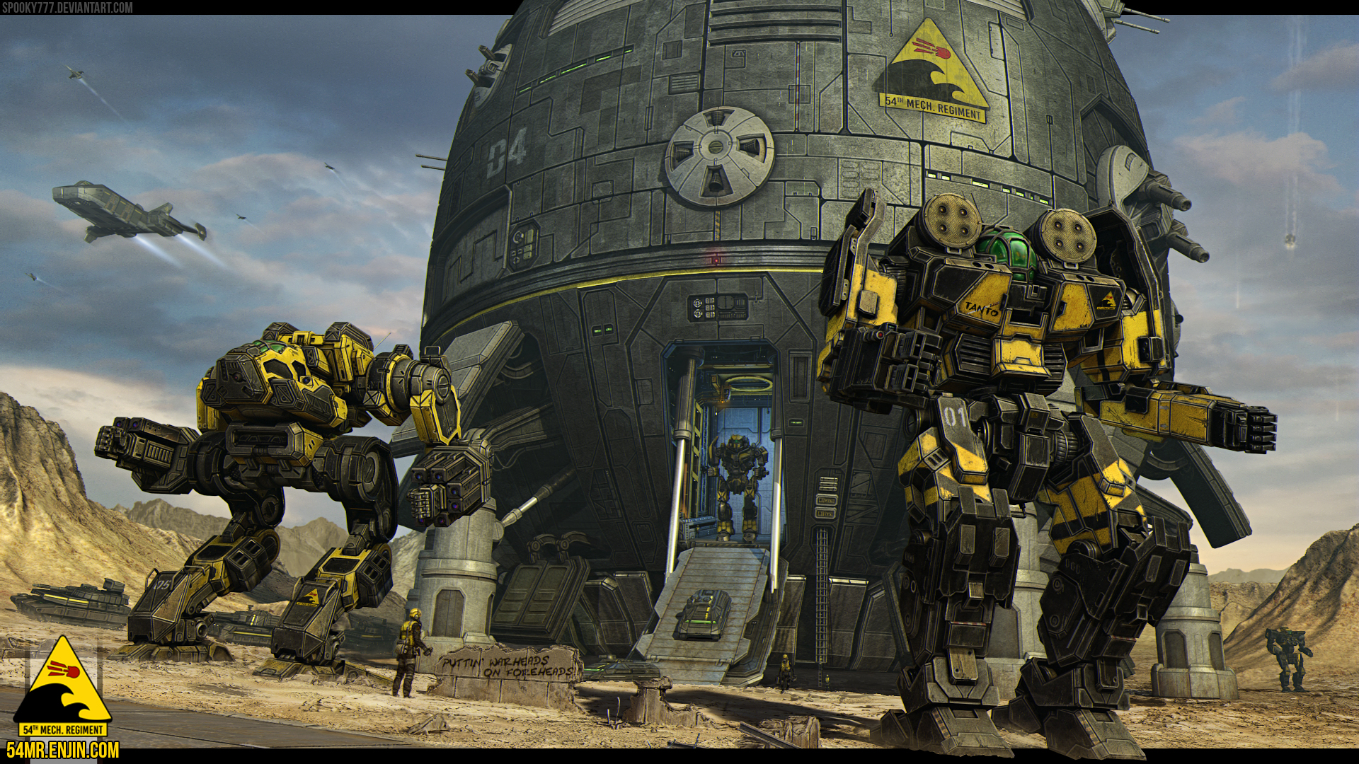 54th Mechanized Regiment by SpOoKy777