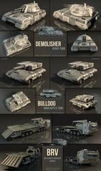 Vehicle Models: Demolisher/Bulldog/BRV