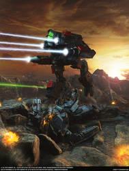 Battletech: Legends, cover -Redemption Rift- by SpOoKy777