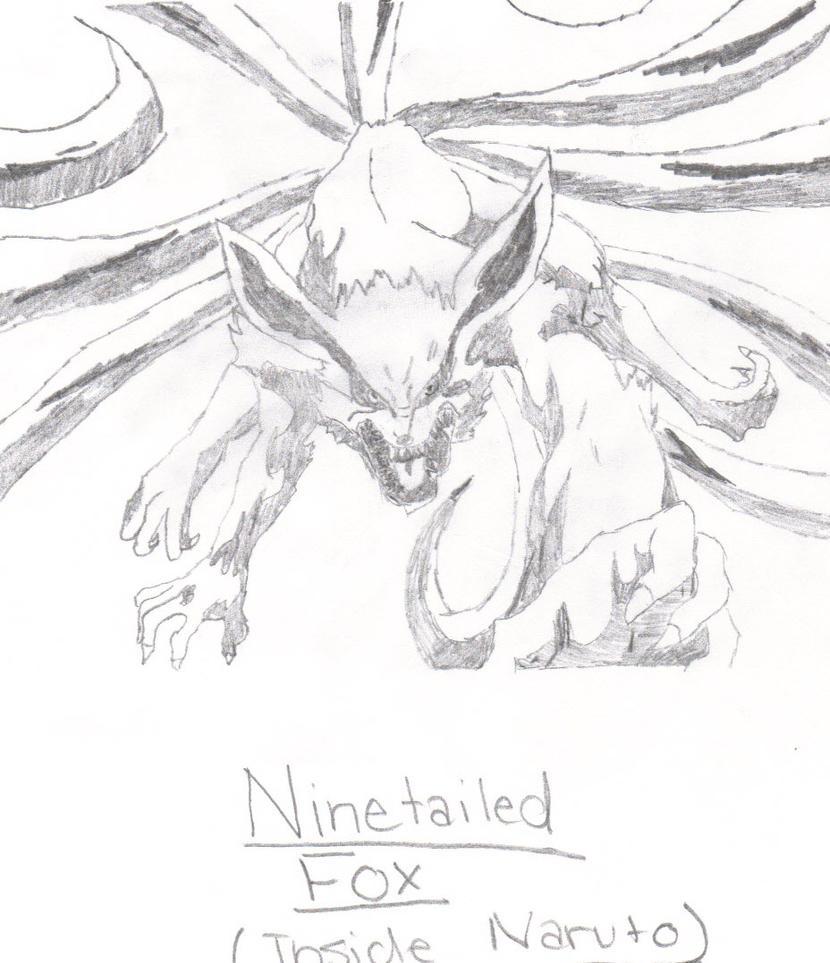 Nine-tailed Fox By Amani-San9692 On DeviantArt