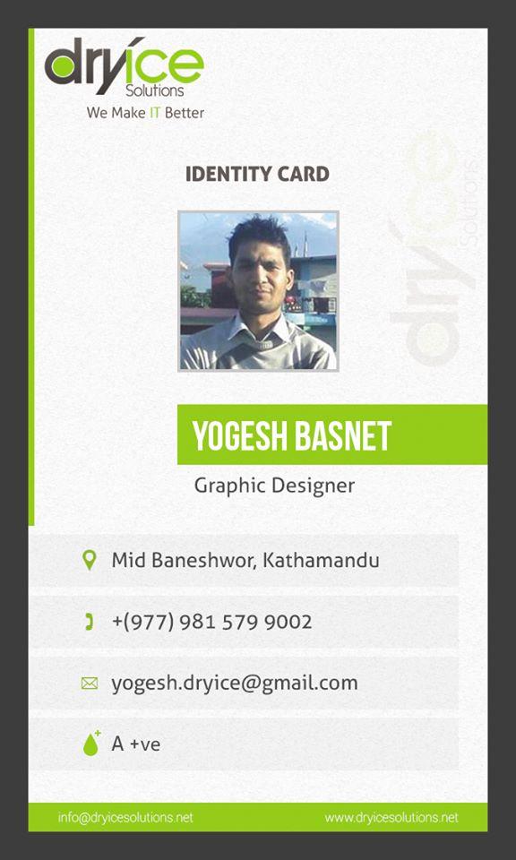 Id Card Design by uguess007 on DeviantArt