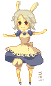 pixel maid by Horoholikka