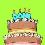happy birthday daniii by Horoholikka