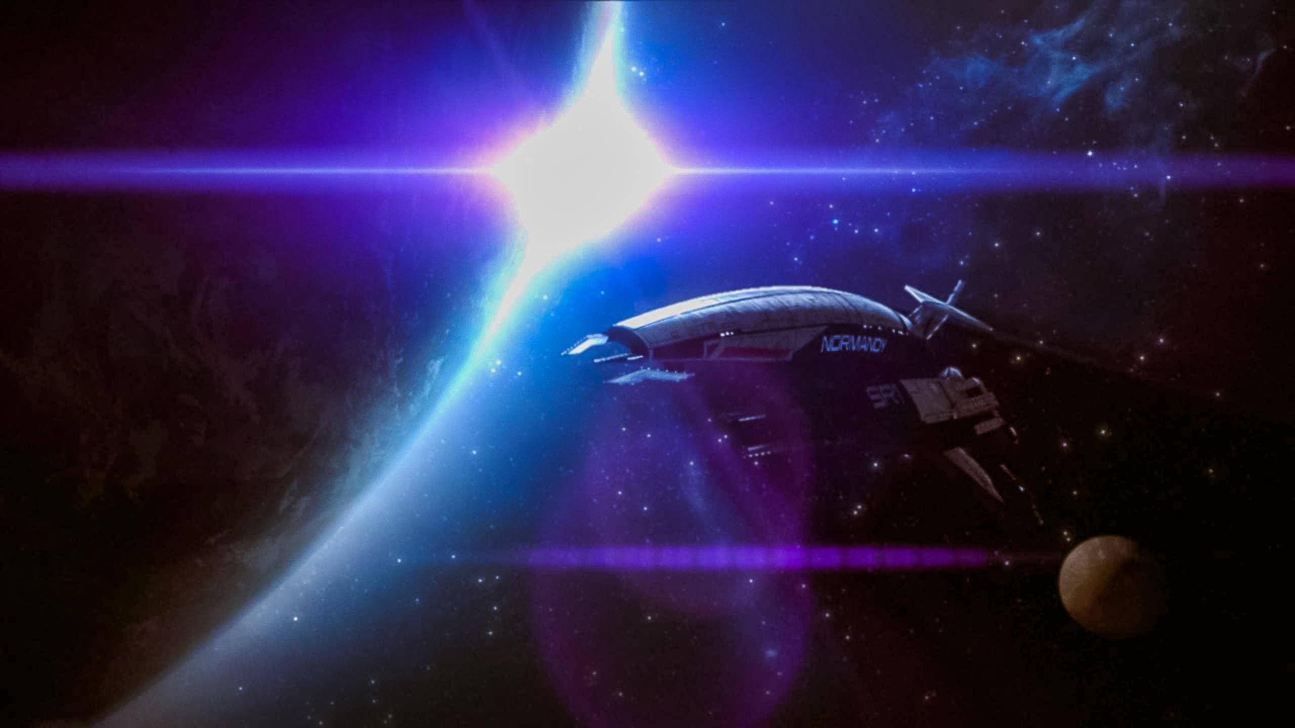 Mass Effect 2 Normandy SR1 By Wolfleben On DeviantArt