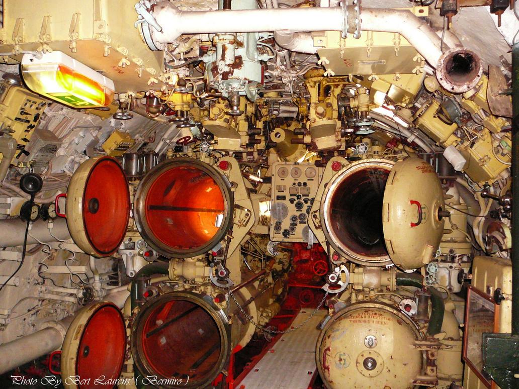 Inside the submarine. by Bermiro