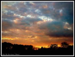Sunset is yet so beautiful in Belgium. by Bermiro