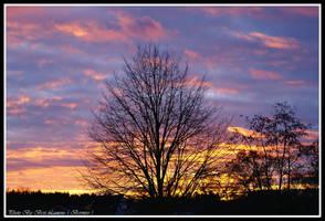 Incredible sunset. by Bermiro