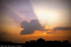 Dark Cloud plays sunset. by Bermiro
