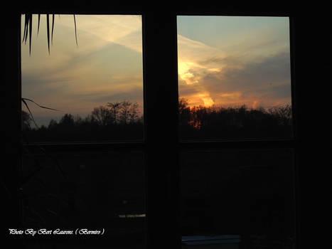 Sunset in quarantine.