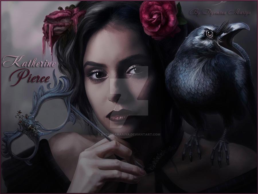 Katherine Pierce by DyominaMariya