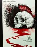 Skull 03 sketch