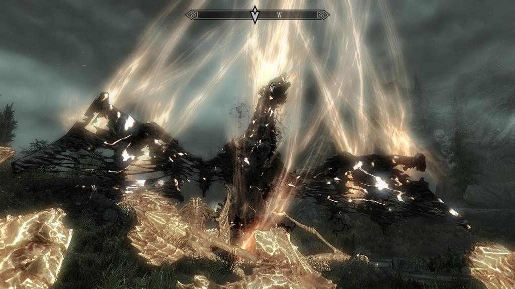 ..The end of Alduin.. by youngni