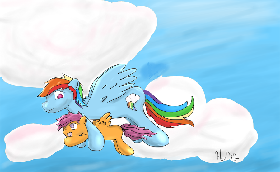 Fly High by HarpsichordArt
