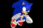 Sonic The-Hedgehog Render