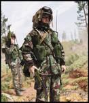 British Infantry '80s