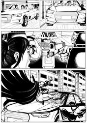 Batman.Page3pencil.jefferson by jefferson-souza