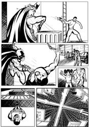 Batman.Page5pencil.jefferson by jefferson-souza