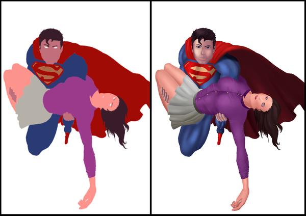 Super-man e Lois Lane by jefferson-souza