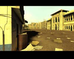Black Hawk Down scene realtime by Hupie