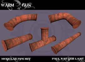 modular pipe set by Hupie