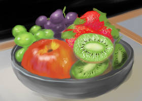 Fruit Bowl by Hupie