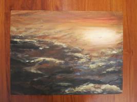 Dramatic Clouds by Hupie