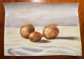 More Onion study by Hupie